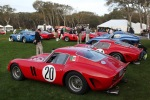 The iconic Ferrari GTO's